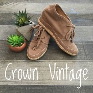 Crown Vintage Espadrilles Wedges
